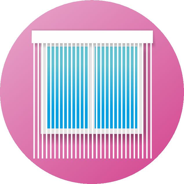 Нитяные шторы - Кисея