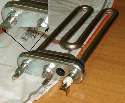 нагревательный элемент стиральной машины аристон индезит 1700 W