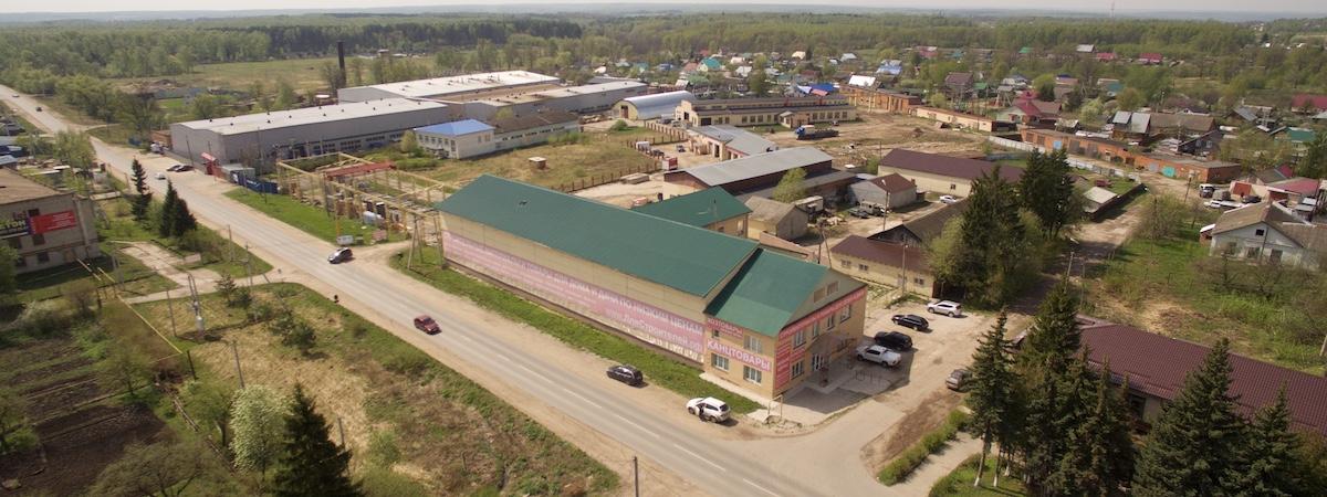 Строительная база в Заокском районе
