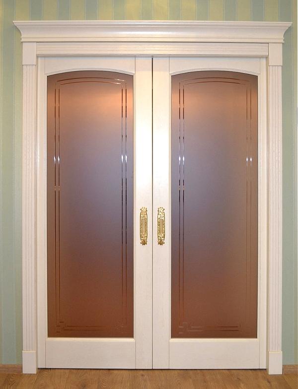 раздвижные двери двустворчатые