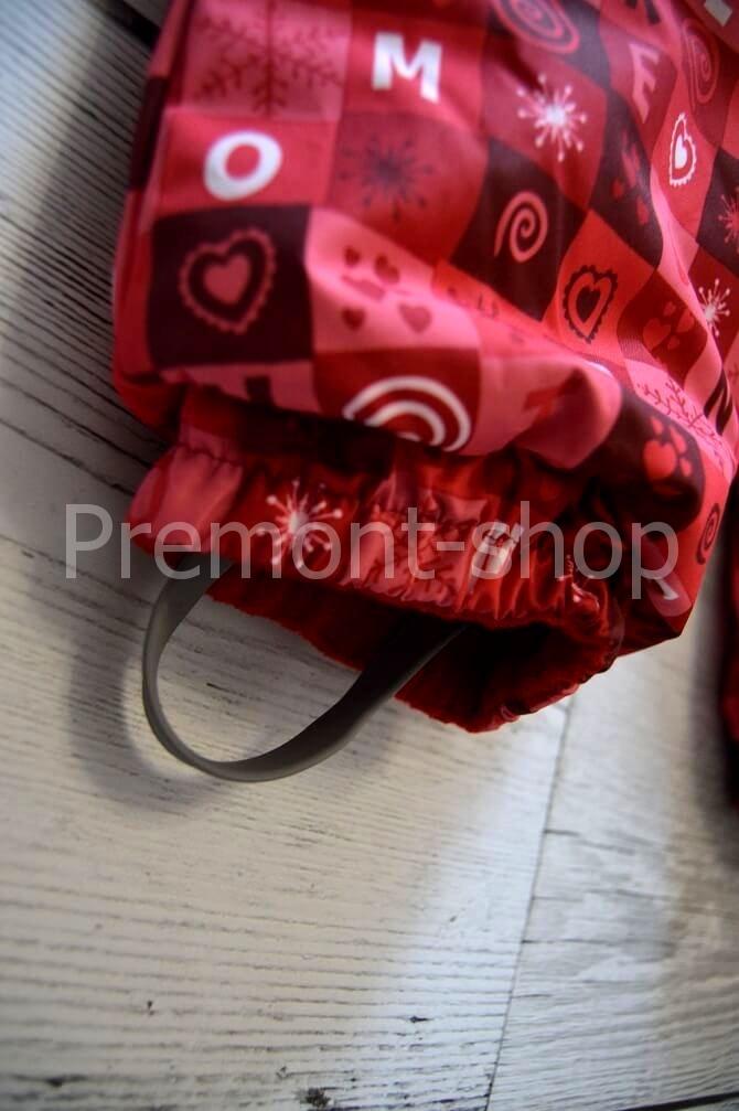 Штрипки на комбинезоне Premont Красные льдинки