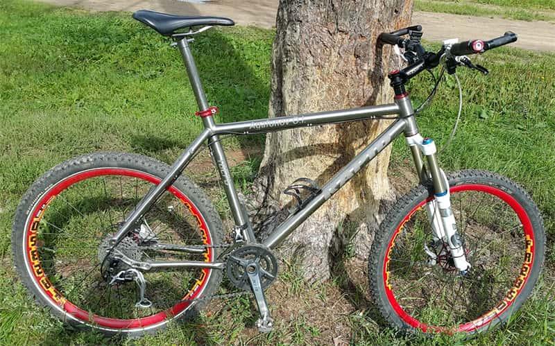 """Велосипед на основе титановой рамы """"Рапид"""""""