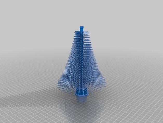 Распечатать ёлку на 3D принтере