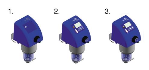 Типы счетчиков молока IDC 1,2,3 SAC