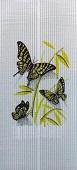 Бабочка на белом фоне - гибкий обогреватель НЭБН