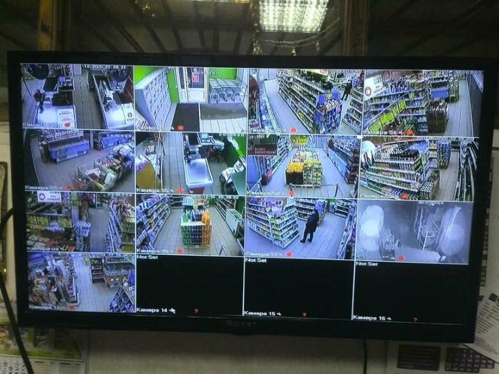 Телевизор с видео наблюдением