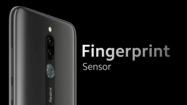 Смартфон Xiaomi Redmi 8 сканер отпечатка