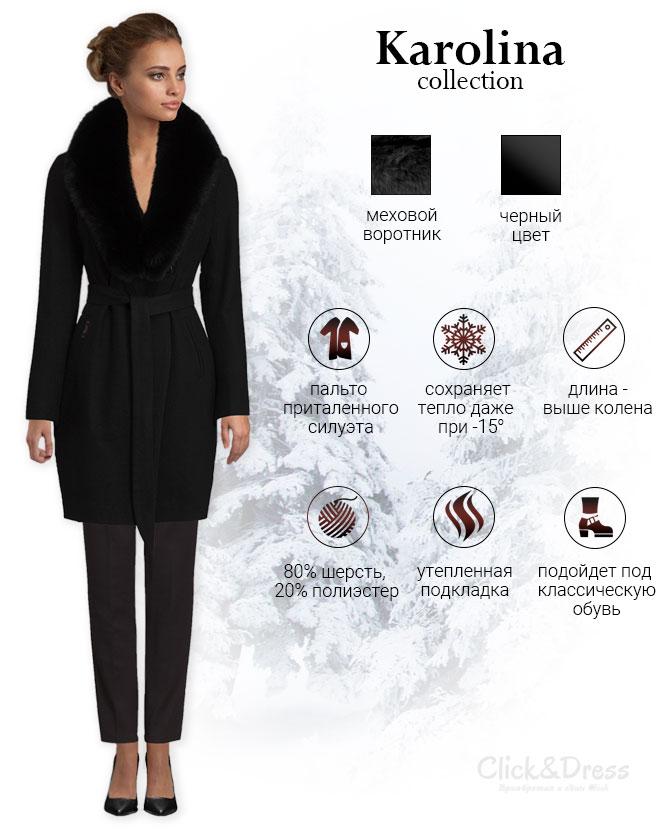 описание как купить зимнее пальто для женщин