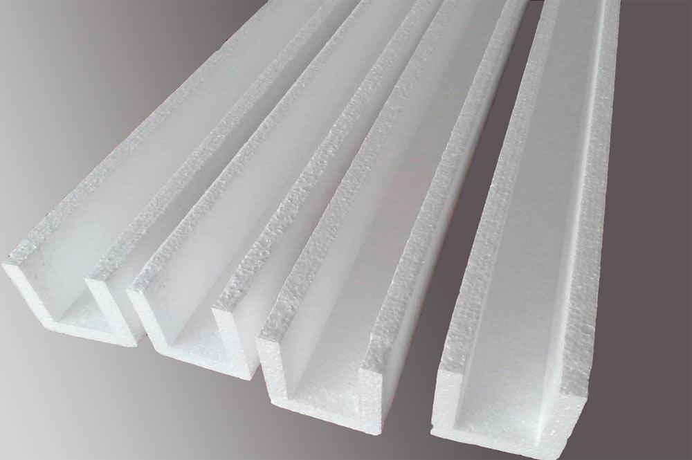 Пример простой упаковки из пенопласта