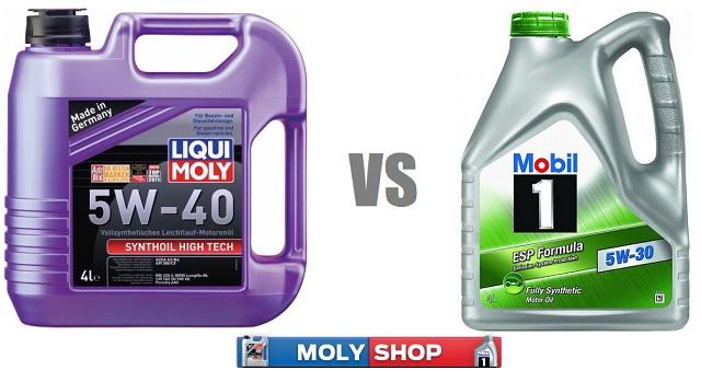Mobil или Liqui Moly что выбрать