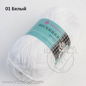 Весенняя Пехорка 01 белый