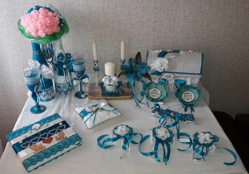 Стандартный набор свадебных аксессуаров