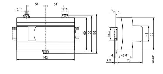Размеры Siemens PXG3.W100