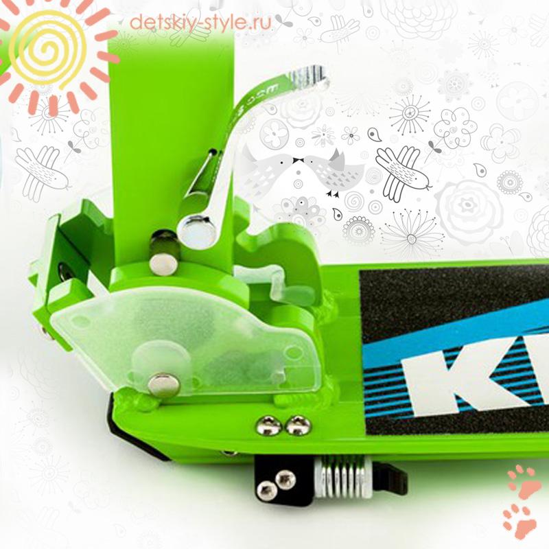 cамокат kettler zero-6-greenatic, детский, купить, цена, самокат кетлер зеро 6 гринатик, гарантия, универсальный,  детскийстиль.рф, до 100 кг, транспорт для детей, интернет магазин, заказать, доставка по россии, бесплатная доставка по москве, отзывы, дешево, онлайн, официальный дилер, detskiy-style.ru