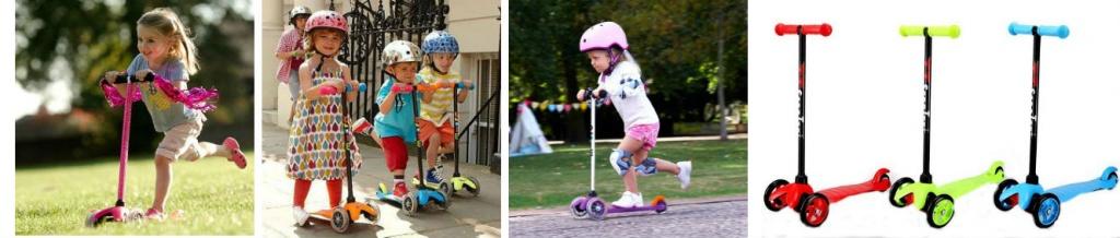 Детский скутер от 3 лет