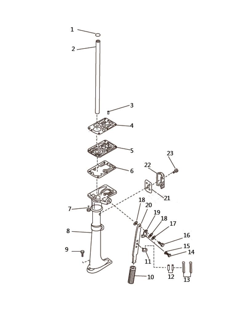 Дейдвуд для лодочного мотора SEA-PRO T2.5