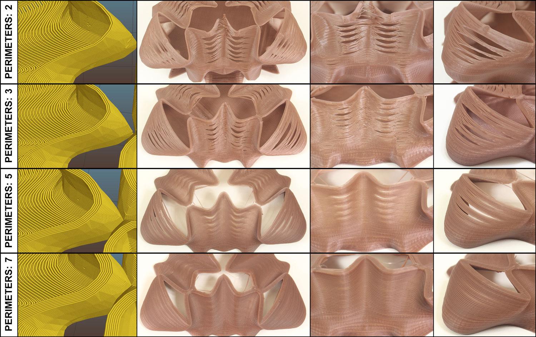 Дефекты печати на искривленных поверхностях