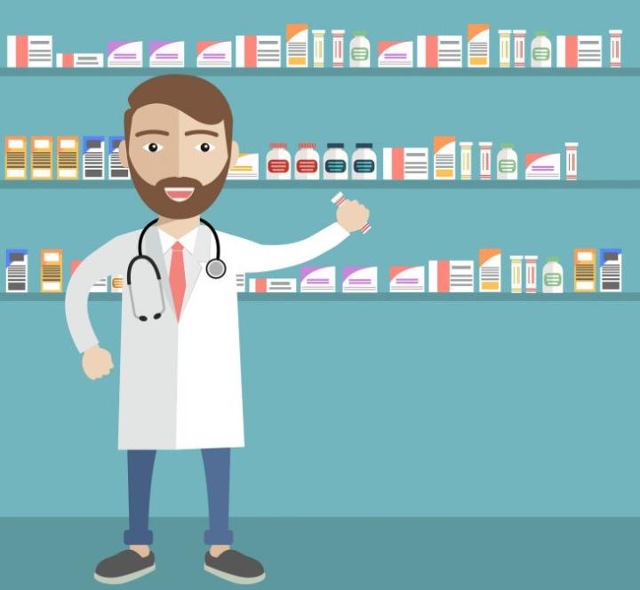 Фирменная форма продавца в аптеке должна быть идеально чистой