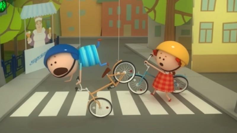 Как двигаться по пешеходному переходу с велосипедом