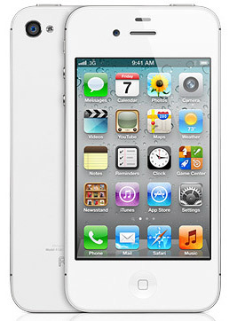 iPhone 4S White Android 2.3 (MTK6573)