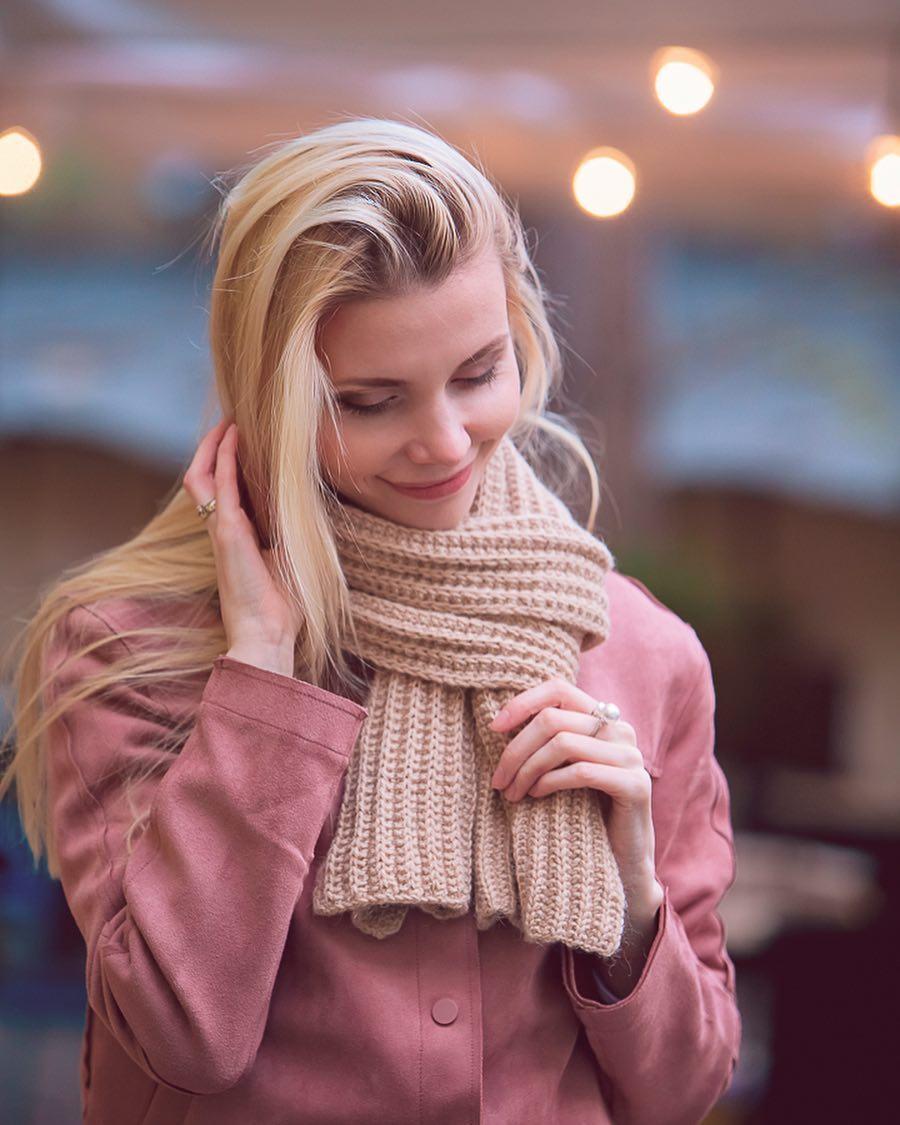 шарф из верблюжьего пуха
