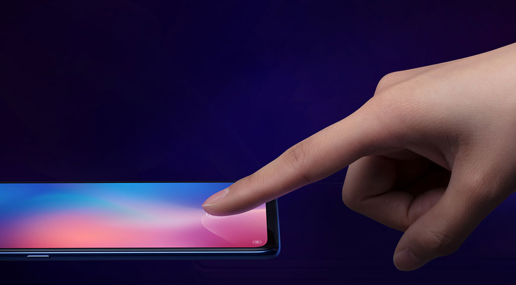 Смартфон Xiaomi Mi 9 сенсорный отпечаток