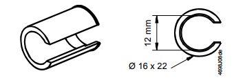 Размеры привода Siemens ASK78.10