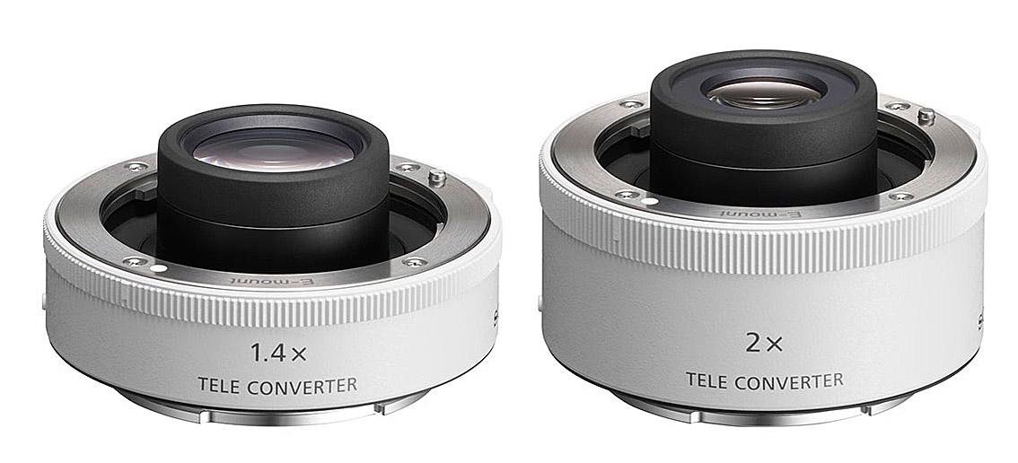 телеконвертеры – модели SEL14TC и SEL20TC