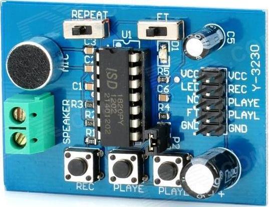 Модуль RS004. Модуль записи и воспроизведения звука