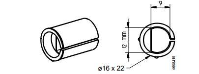 Размеры привода Siemens ASK78.12