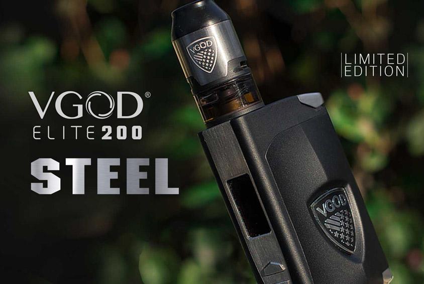 Боксмод VGOD ELITE 200 STEEL 200W