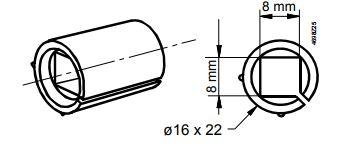 Размеры привода Siemens ASK78.14