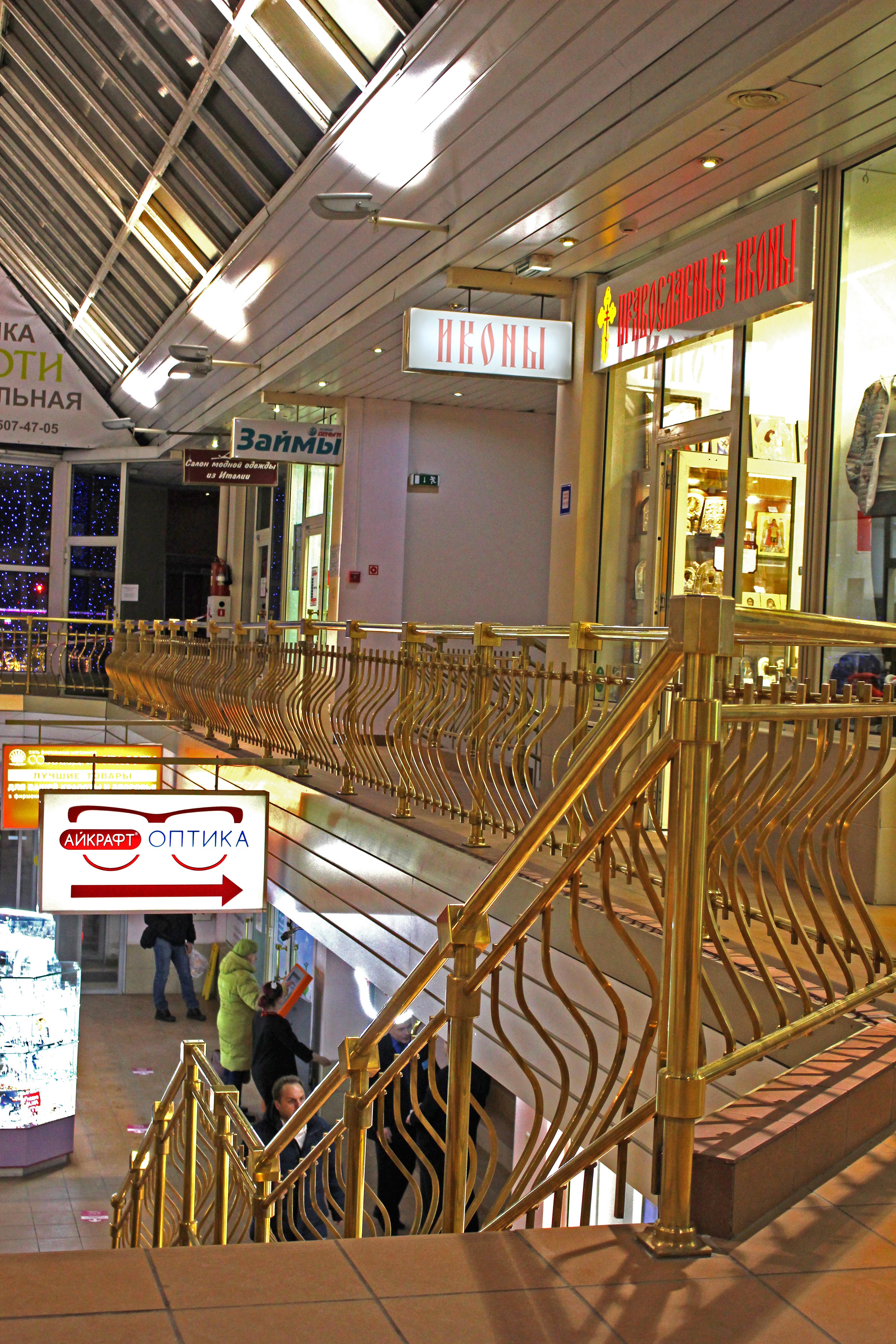 """Расположение магазина """"Православные иконы"""" на 2 этаже в секции 33 в торговом центре """"Таганка"""" (г.Москва)."""