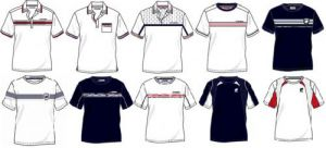 Поло и футболки теннисной коллекции из хлопка