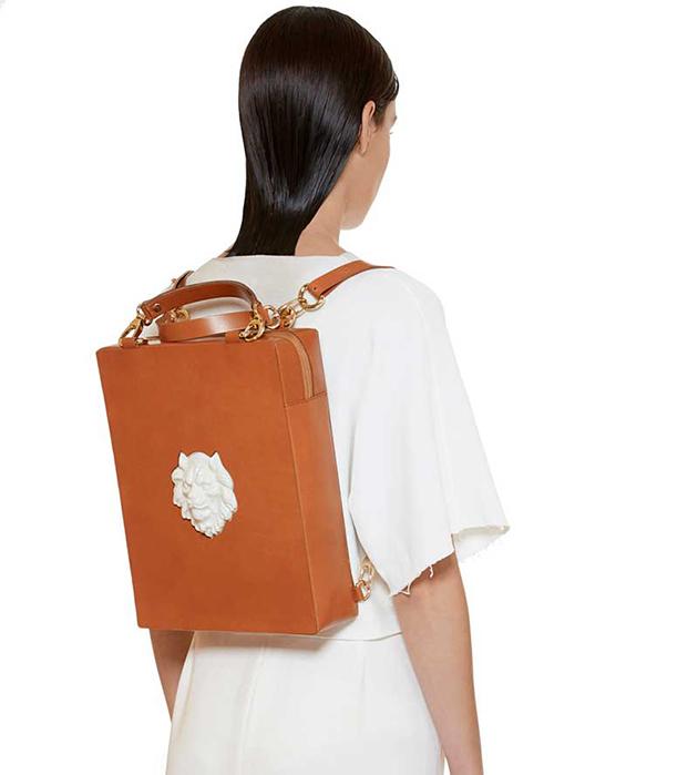 купите сумка-рюкзак из кожи Lion Black от ANDRES GALLARDO