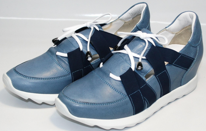 1a399b114 Кожаные женские кроссовки LedyWest-1484115