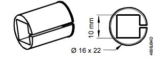Размеры привода Siemens ASK78.7