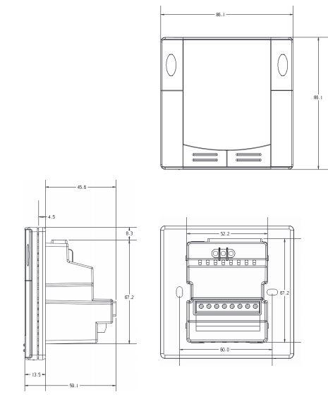 Размеры Siemens RDU340