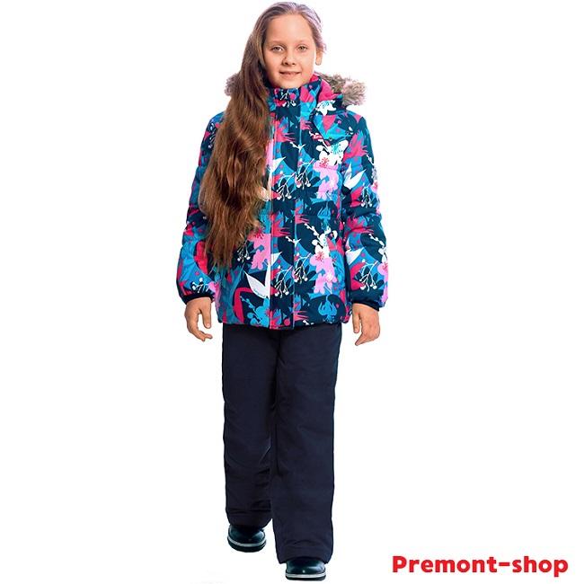 Комплект для девочки Premont Сад под снегом купить в интернет-магазине Premont-shop