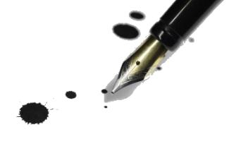 Протекание перьевой ручки