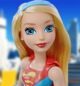 Кукла Супердевушка (Supergirl) - Базовая, Super Hero Girls