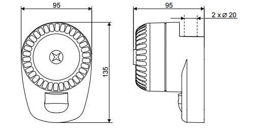 Размеры Siemens ROLP/R/S