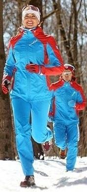 NSW461790 Ветрозащитный спортивный костюм Nordski National женский