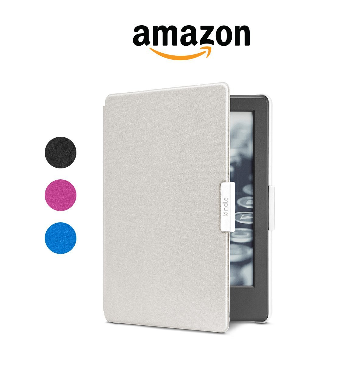 Чехол обложка Amazon Cover Case for All-New Kindle 7 (2016) White/Grey