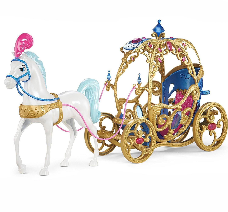 Лошадь с каретой для Золушки Дисней, игровой набор