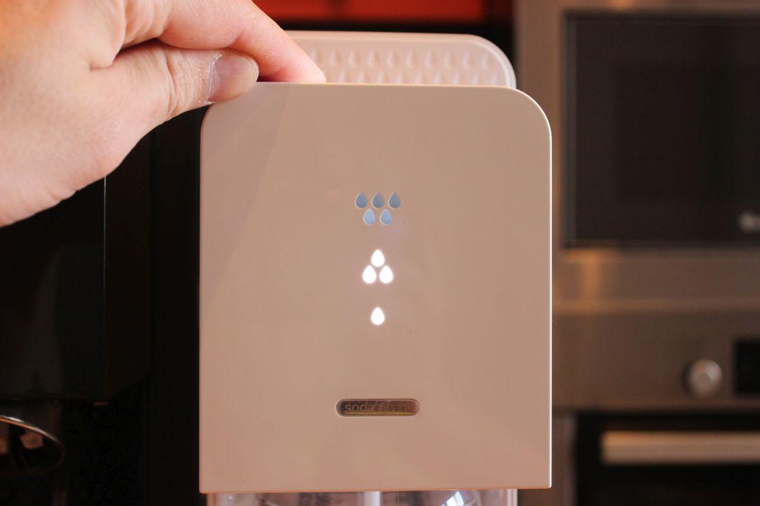 Сифон Source Plastic - светодиодные индикаторы