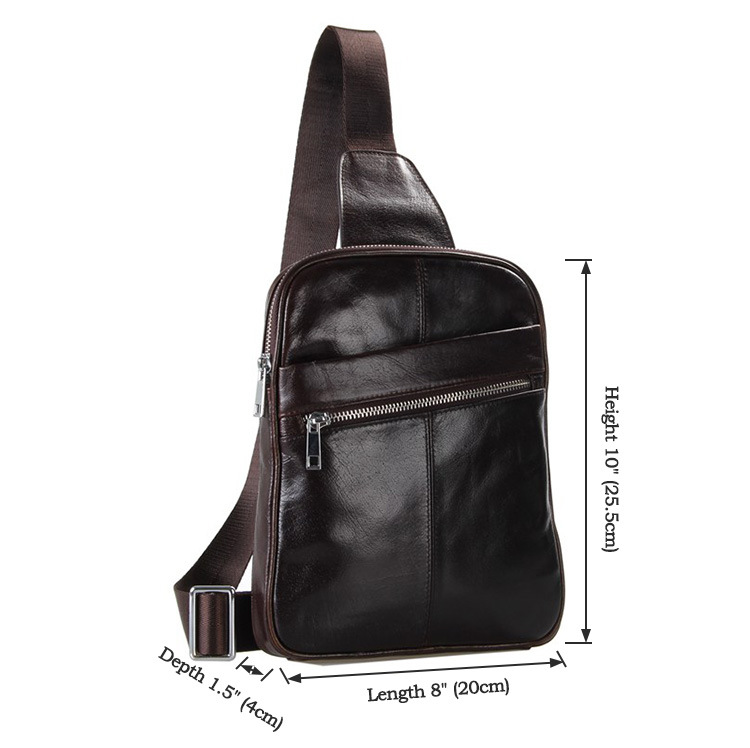 Размеры кроссбоди сумки JMD jd041