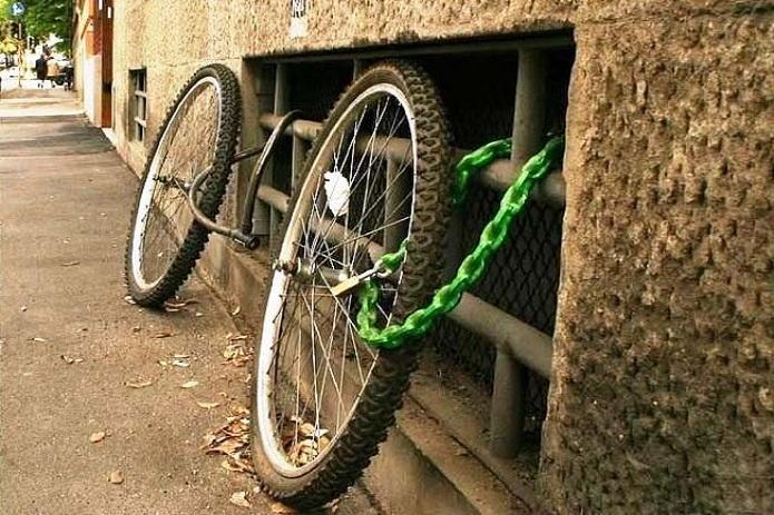 Остатки велосипеда
