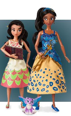 Куклы Елена из Авалора и Изабель (поющие)