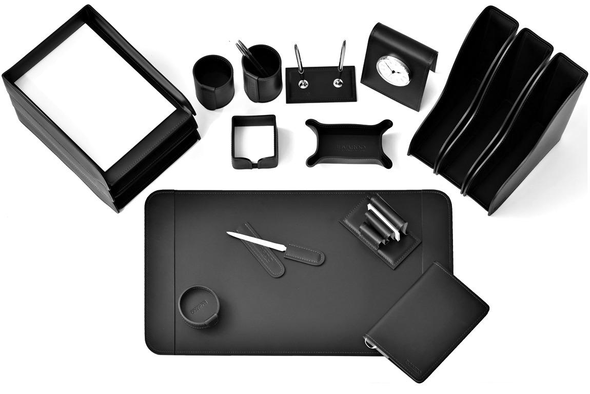 органайзер для письменного стола черный vipnabor